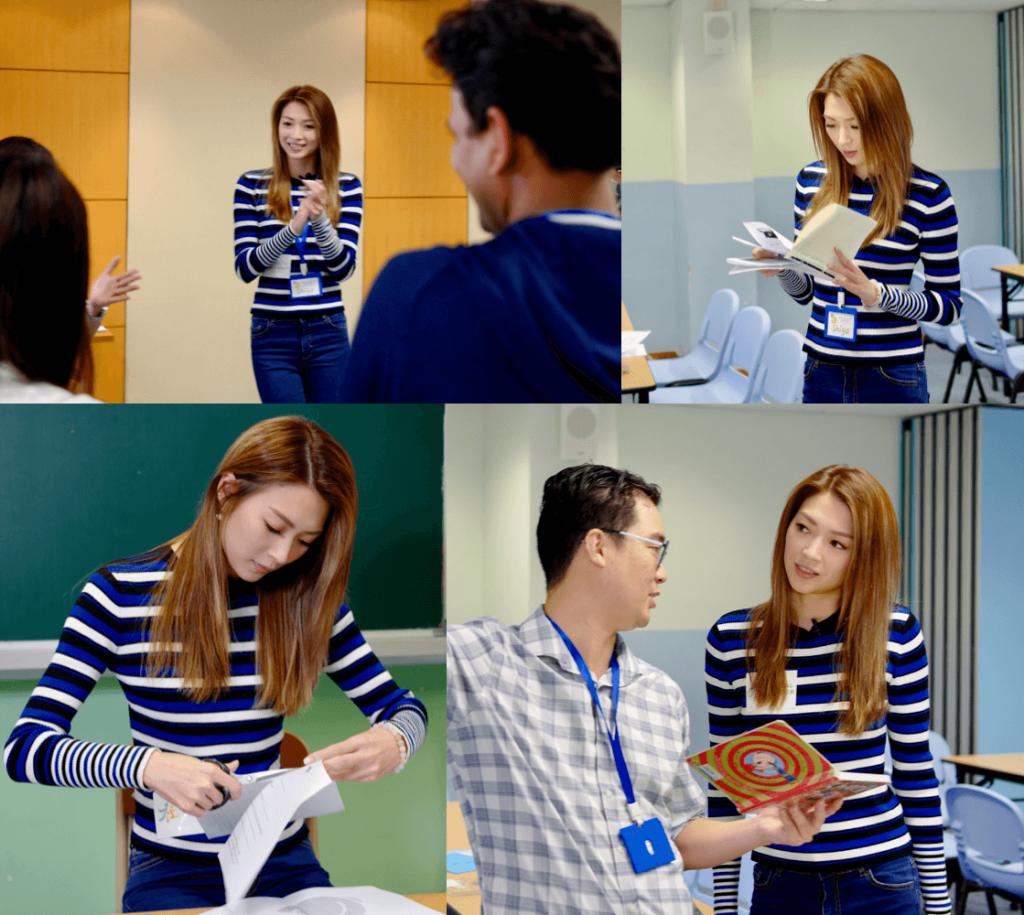 Shiga 連詩雅 reading volunteering