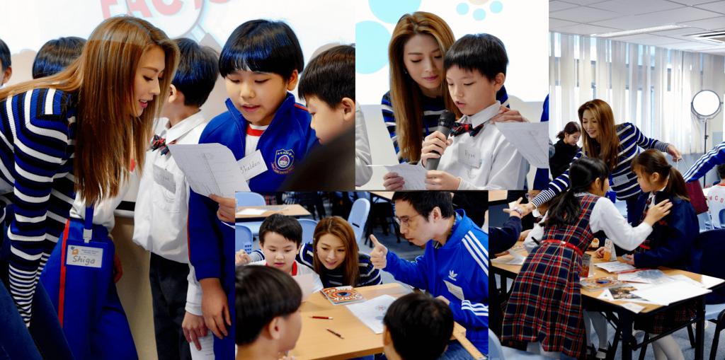 連詩雅 Shiga Volunteering for kids service