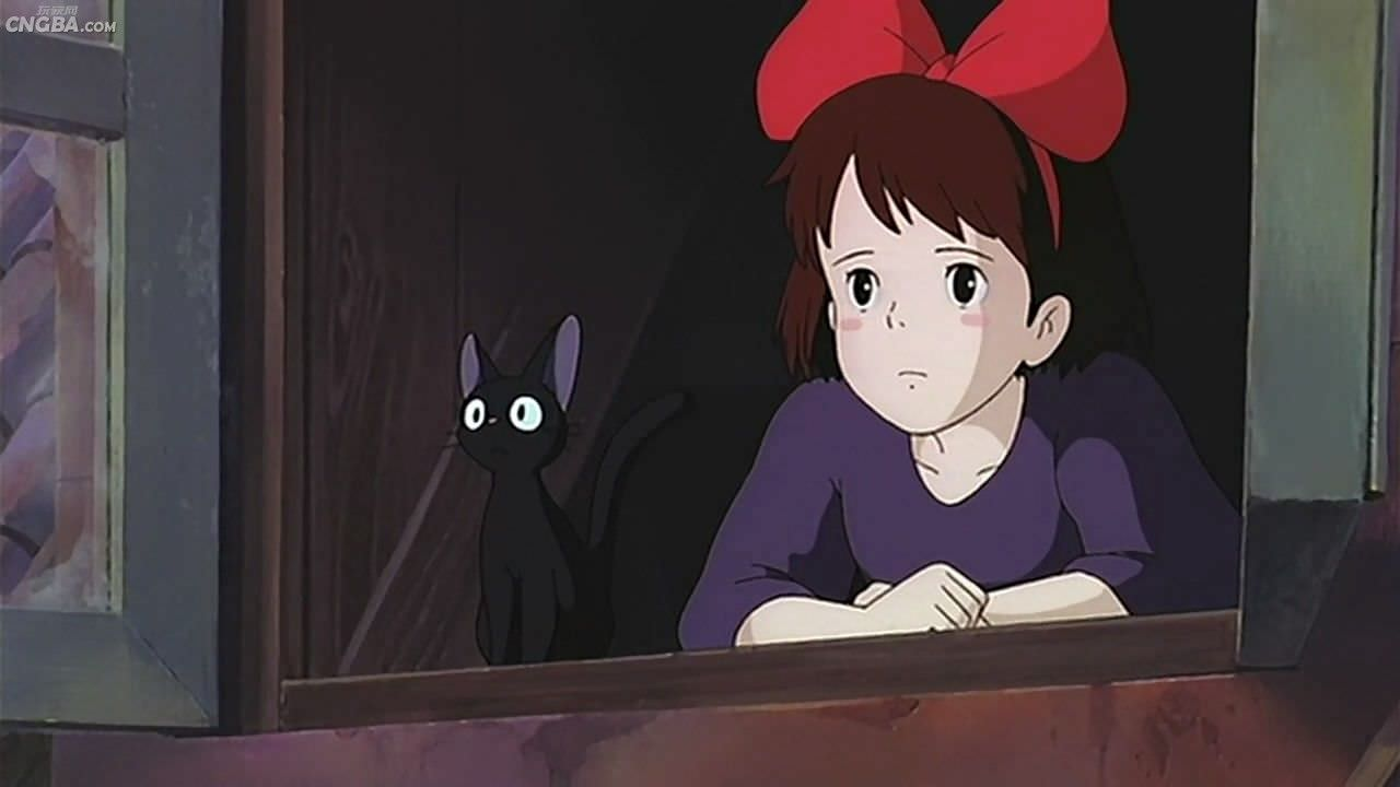 吉吉Jiji 魔女宅急便 (Kiki's Delivery Service) _ respect your cat day